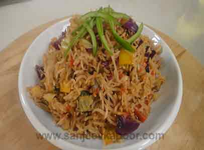 Jain Sichuan Fried Rice