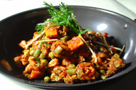 Home » Recipes » Kadai Vegetables