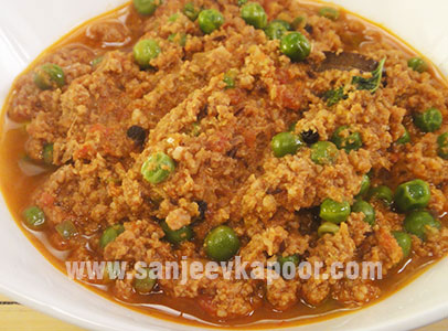 How to make keema matar recipe by masterchef sanjeev kapoor keema matar recipe card forumfinder Images