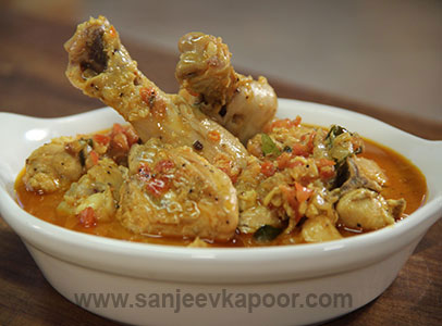 How To Make Kerala Style Chicken Curry Recipe By Masterchef Sanjeev Kapoor