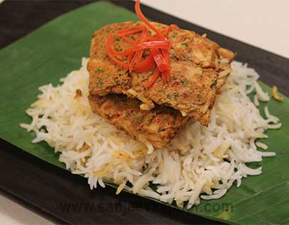 How To Make Khud Style Baked Fish Recipe By Masterchef Sanjeev Kapoor