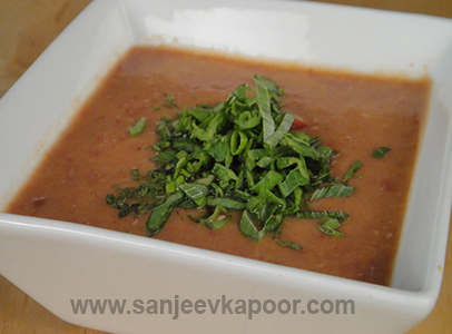 how to make vegetable soup by sanjeev kapoor