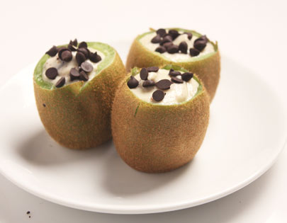 Kiwi Chocolate Chip Shrikhand