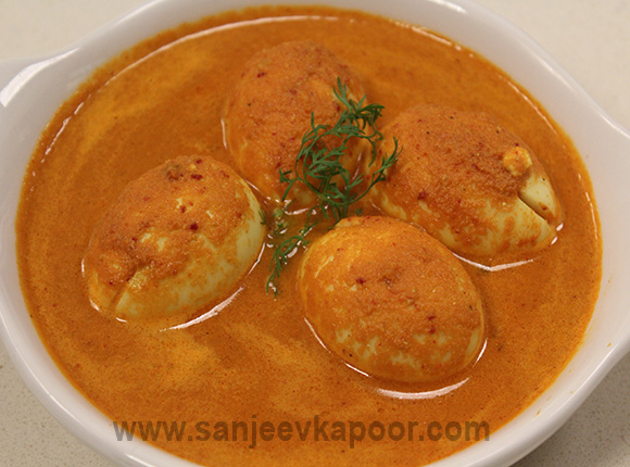 Kolhapuri Egg Curry