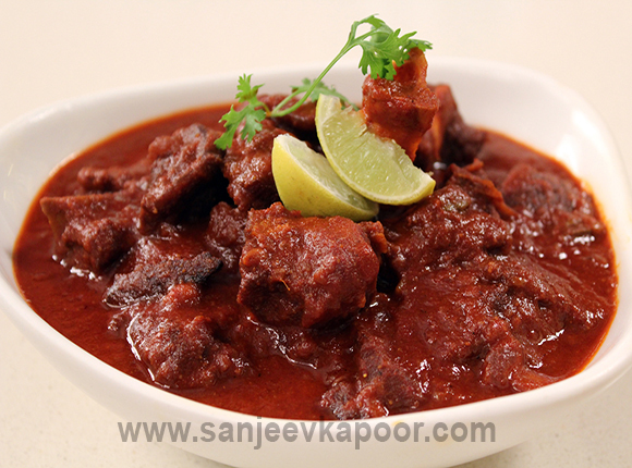 How to make laal maas recipe by masterchef sanjeev kapoor laal maas recipe card forumfinder Image collections