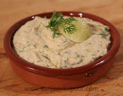 Lemon and Coriander Hummus