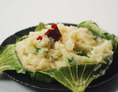 How to make lotus leaf rice recipe by masterchef sanjeev kapoor forumfinder Gallery