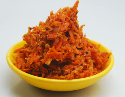 Low Calorie Carrot Pickle
