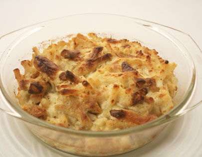 Macaroni and Cheese with Sausages