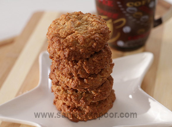 Maple Oatmeal Cookies