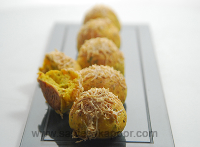 Masala Cheese Breadlets