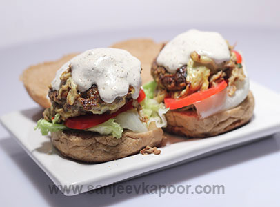 Masala Meat Burger