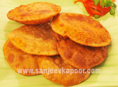 Masala Cheese Puri