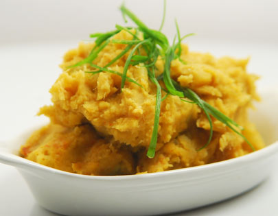 Mashed Sweet Potatoes Thai Style
