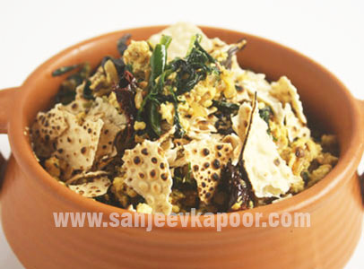 Methi Paneer Bhurjee