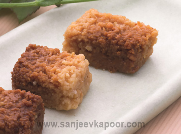 How to make milk cake recipe by masterchef sanjeev kapoor milk cake recipe card forumfinder Image collections