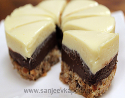 how to make chocolate icing for cake by sanjeev kapoor