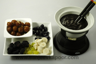 Mithai And Fruit Fondue