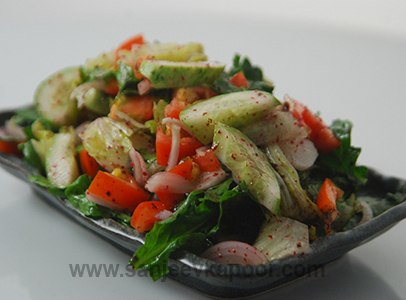 Mixed Salad with Sumac