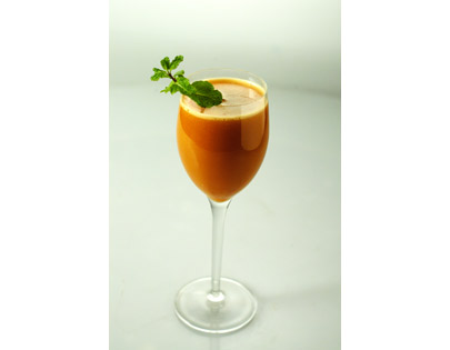 Mixed Fruit And Carrot Juice