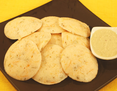Mixed Vegetable Idli