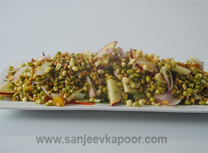Moong Moth Ka Anokha Salad