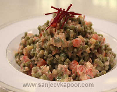 Moong ki Chaat