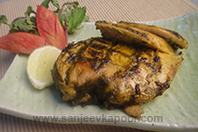 Moroccan Spiced Grilled Chicken