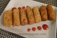 Mozzarella Stuffed Croquettes