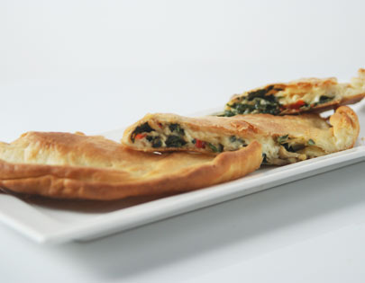 Mushroom And Spinach Calzone