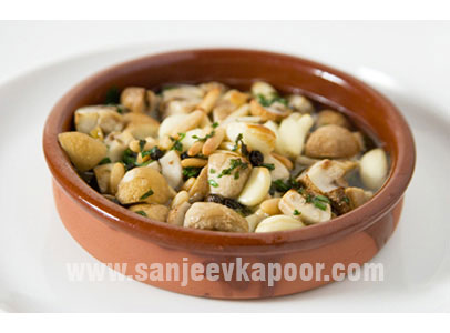 Mushroom With Garlic