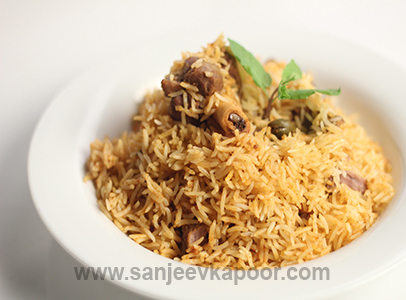 How to make mutton biryani recipe by masterchef sanjeev kapoor forumfinder Images