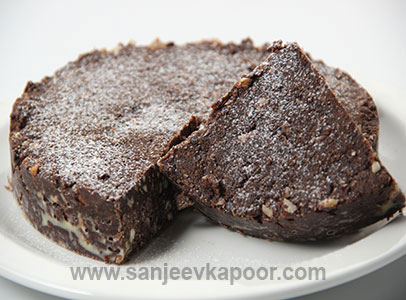 Chocolate Fudge Cake By Sanjeev Kapoor