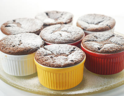 No Flour Chocolate Souffle