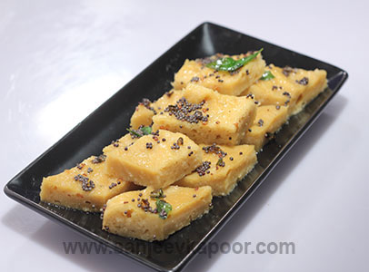 How to make oats dhokla recipe by masterchef sanjeev kapoor oats dhokla forumfinder Choice Image