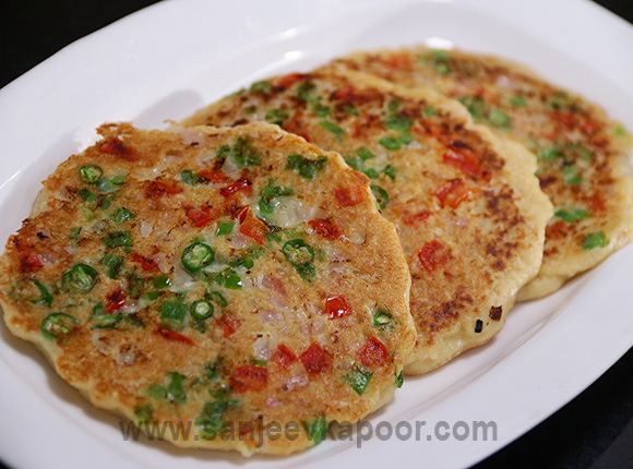 How to make oats uttapam recipe by masterchef sanjeev kapoor forumfinder Image collections