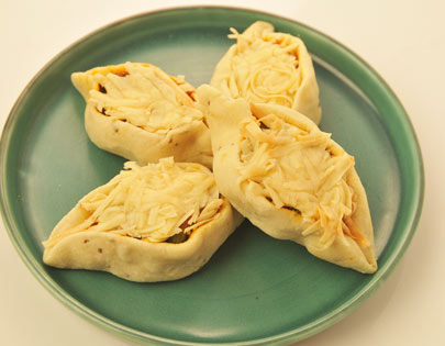 Open Cheese Samosa