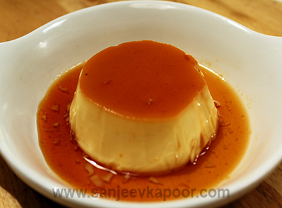 Orange and Creme Caramel