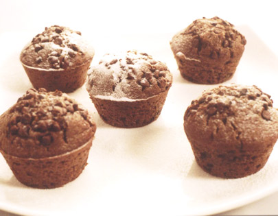 Orange And Chocochip Muffins