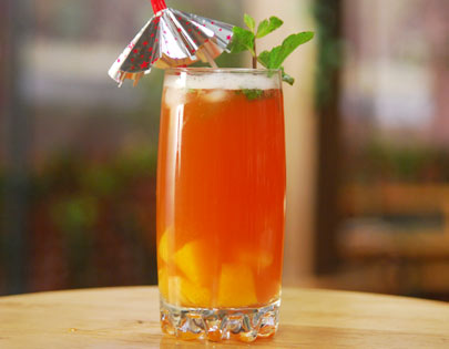 Orange Berry Cordial