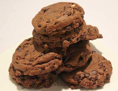 Overload Chocolate Cookies