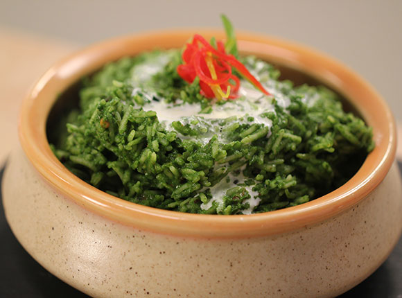 Palak Khichdi - cook smart