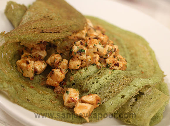 How to make palak paneer dosa recipe by masterchef sanjeev kapoor for more recipes related to palak paneer dosa checkout palak paneer tofu palak dhokla palak namakpara diwali special you can also find more snacks and forumfinder Images