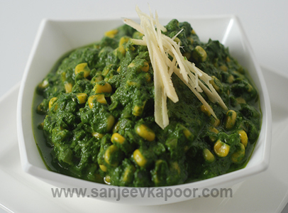 How to make palak corn recipe by masterchef sanjeev kapoor forumfinder Gallery