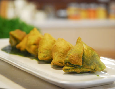 Palak aur Vegetable Samose