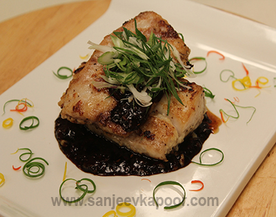 Pan Seared Fish with Soy Sauce