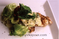 Pan Fried Chicken Breasts With Lemon And Basil Sau