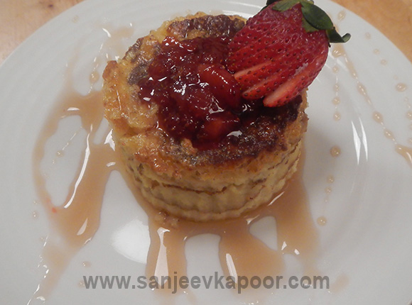 Pancake Pudding Bake