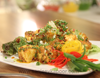 How to make paneer grill recipe by masterchef sanjeev kapoor paneer grill recipe card forumfinder Choice Image