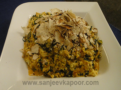 Paneer Methi Bhurjee